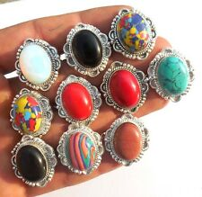 Modern Fashion Jewellry 10Pcs 925 Sterling! Silver Overlay Ring