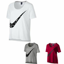 Nike Hip Length Short Sleeve Regular Size T-Shirts for Women