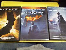 (10) Batman DVD Lot: Batman 1, 2, 3 & 4  Begins Dark Knight & Rises + MORE