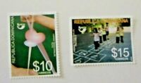 Dominican R*  2008  Children games   UPAEP America Mint NH Set  Unused stamps