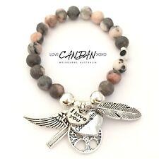 Goddaughter Gift Evil Eye Mati Guardian Angel Religious Keepsake Love Bracelet