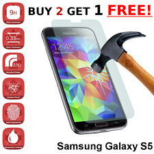 Samsung Galaxy S5 SV / S5 NEO High Quality Tempered Glass Screen Protector