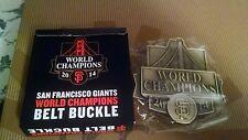 SAN FRANCISCO GIANT SF 2014 WORLD CHAMPIONS BELT BUCKLE BASEBALL MLB GATEWAY