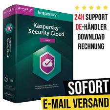 Kaspersky Security Cloud 2021 | 20 Device - 1 Jahr | Schnelldownload - Vollvers.