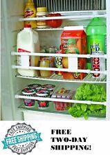 RV Double Refrigerator Bar Cupboard Spring Loaded Travel Trailer Camper Kitchen