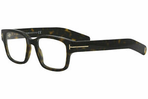 Tom Ford TF 5527 052 Eyeglasses Frames Dark Havana Authentic New Rxable 50mm