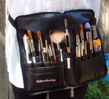 Extra large belt strap Makeup Brush PU. Pro profession Cosmetic Brushes holder.