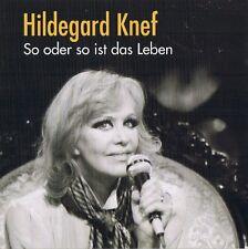 """HILDEGARD KNEF """"So oder so ist das Leben"""" CD 2007 NEU & OVP"""