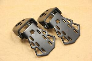 Bike Bicycle Foot Pegs Foot Board Foot Pads Iron Black