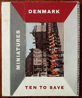 Denmark, Miniatures, Ten To Save, Photog Card Book