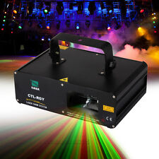 RIDGEYARD 310mW Machine Laser RGY Projector LED DJ Bar Stage Light DMX Contrôle