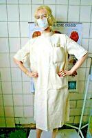 Vintage Arzt Krankenschwester Operations-Kittel OP Jacke Lazarett Corona Klinik