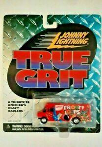 Johnny Lightning True Grit Delivery Step Van Froot Loops! Red 2000