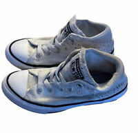 Converse Unisex 1 Chuck Taylor All Star Speckled Mid Top Casual Shoe White