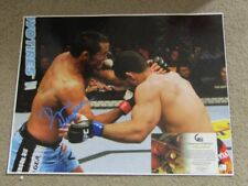 "Dan Henderson Hand Signed 16 ""x 20 "" photo GA JSA"
