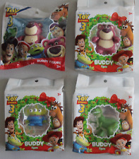 Toy Story 3 Buddy Figure Set of 4 Includes 2 Lotso.Rex and Alien