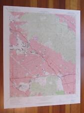 Burbank California 1974 Original Vintage USGS Topo Map