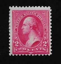 US  1894 Sc# 252  2 cent  WASHINGTON  Mint LH - Crisp Color