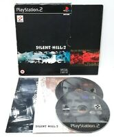 Silent Hill 2 Special Ed ~ Sony PlayStation 2 PS2 *Excellent Complete w Sticker*