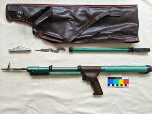 Vintage Soviet pneumatic spear gun RPO-4