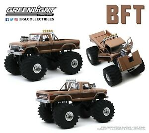 FORD F-350 F350 SUV Monster Truck 4x4 Kings of Crunch Truck 1978 Greenlight 1:18