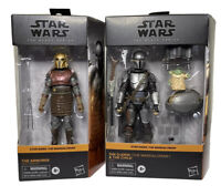 Star Wars Black Series THE MANDALORIAN Din Djarin and The Child & The Armorer