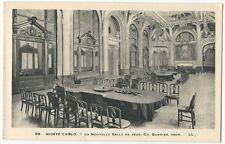 Monaco - Monte-Carlo, le Casino, la Nouvelle Salle de Jeux - 1920's postcard
