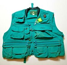 Vintage Orvis Fishing Vest SMALL Multi-Pocket Fly Fishing