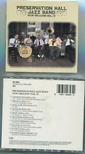CD Preservation Hall Jazz Band: New Orleans Vol. IV (CBS) 1988