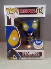 Funko Pop Marvel 112 Blue Thumbs Up Xmen Deadpool f.y.e. exclusive 2016