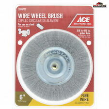 "6"" Wire Wheel Brush Grinder ~ New"