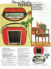 PUBLICITE ADVERTISING 037  1963   le Transitradio Teppaz