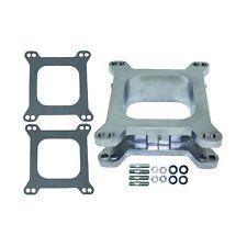 "2"" Tall Aluminum Open 4BBL Carburetor Spacer W/ Gaskets Holley Edelbrock & BG"