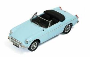 IXO 1964 MG B Cabriolet L (Light Blue) 1/43 Scale Diecast Model NEW, RARE! Nice!