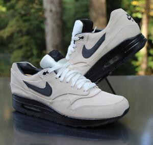 Nike Air Max 1 Premium Men's Size 10 Summit White Black 512033-100