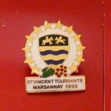 Pins numéroté 4379 St Vincent tournante 1993 MARSANNAY la côte bourgogne dep 21