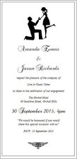 Engagement - Anniversary - Wedding - Invitations - 20 Designs Available - Sample
