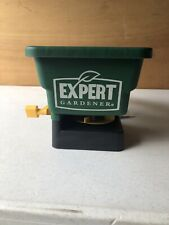 Expert Gardener Hand Held Spreader Broadcast Seed Fertilizer Grass Plant Salt