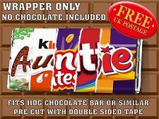 AUNTIE Galaxy Chocolate Bar Wrapper (no chocolate included) Birthday christmas