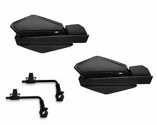 Powermadd Star Series Handguards Guards Tri Mount Kit Black / Black ATV Suzuki