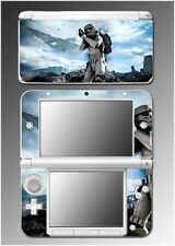 Star Wars Battlefront Storm Trooper Video Game Decal Skin Nintendo 3DS XL