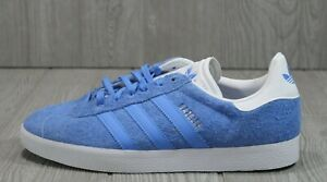 54 New Womens Adidas Gazelle EE5542 Blue Suede Sneakers Shoes Size 5.5 - 9