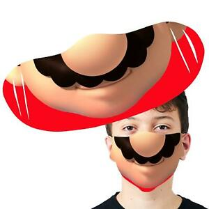 Mario Face Washable Face Cover Anti Pollution Reusable Face Mask