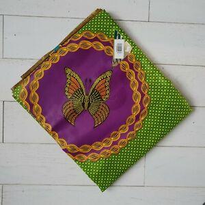 Supreme Bazin African CottonMix Wax Fabric Beautiful Colours 6 Yards