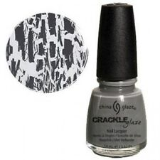China Glaze Crackle Nail Polish Cracked Concrete ( Grey )  14ml