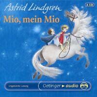 ASTRID LINDGREN - MIO,MEIN MIO (LESUNG) 4 CD NEU