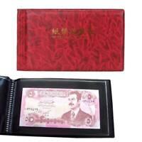 20pcs Banknote Pocket Album Wallet Case Currency Holder Paper Money Book SALE