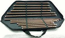 Turkish Woodwind Plastic Kaval Set 13 PCS Flute