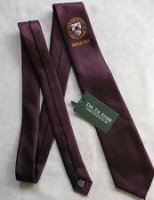 Vintage GOLF Tie Mens Necktie Retro Sport GOLFING CLUB GRIMSBY SENIORS