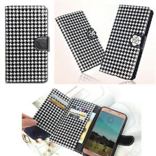 Fashionable Wallet Case for Samsung Galaxy Note10 10+Note9 Note8 7 FE 5 Edge 4 3